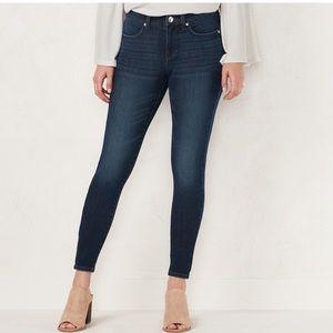 LC Lauren Conrad super skinny jeans Sz8